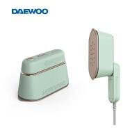 韩国大宇手持挂烫机熨烫机家用小型蒸汽熨斗便携式平烫熨衣服神器 绿色