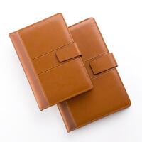 卡杰文具笔记本加厚创意记事本定制商务办公复古皮面日记本子