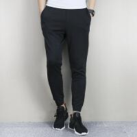 Adidas阿迪达斯 男子 运动休闲长裤 透气收腿修身长裤 BR5760