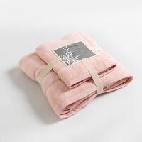 酒店浴巾毛巾套装柔软强吸水加厚男女洗脸情侣新生婴儿童