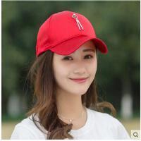 时尚韩版女棒球帽休闲遮阳帽子潮韩百搭国铁环棒球  鸭舌帽子  可礼品卡支付