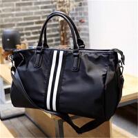 男士旅行包牛津布健身女小行李包大容量韩版出差行李袋手提包大容量斜挎包中学生
