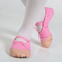 幼儿童舞蹈鞋软底女夏瑜伽练功鞋体操鞋芭蕾舞鞋猫爪鞋跳舞鞋