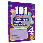 SAP 101 Challenging Maths Word Problems Book 4 新加坡数学101个数学必