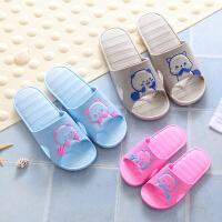 儿童拖鞋男童夏女童可爱小孩宝宝室内家用洗澡浴室防滑亲子凉拖鞋