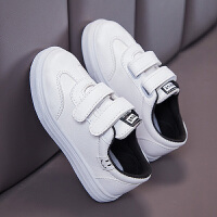 男童板鞋魔术贴儿童小白鞋运动休闲鞋