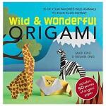 【特惠包邮】Wild and Wonderful Origami野生动物折纸:35个动物折纸 英文儿童趣味互动读物