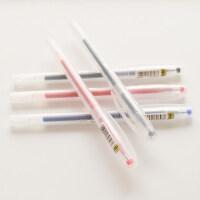 真彩0221B中性笔透明笔杆 学生用水笔简约 0.5mm盒装办公签字笔