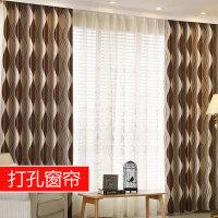隔音窗帘成品简约现代北欧客厅落地窗卧室遮阳布窗帘遮光布遮光J
