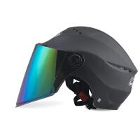 电动摩托车头盔男女通用夏季防晒双镜片轻便式安全帽电瓶车