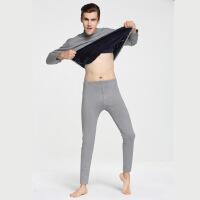 新款保暖内衣男士加厚加绒真超套装中老年中高领防寒特厚加大
