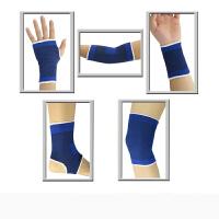 护踝薄款篮球护具套装运动护手掌脚腕护肘护腕护膝男女儿童跳舞蹈 +