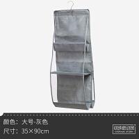 透明包包收纳挂袋布艺尘袋家用整理柜收纳架装衣柜手袋宿舍 大号