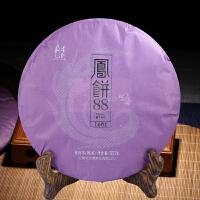 [当当自营] 云南普洱茶熟饼 凤饼88宫廷普洱茶熟茶   357克/饼