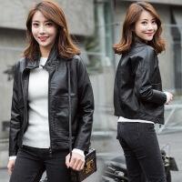 一件年秋季修身优雅韩版宽松潮流衬衫短款21811 P130 黑色