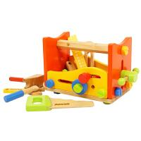 小型拆装工具台 儿童木制螺母组合益智拼装组合玩具