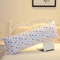 床上靠枕靠垫抱枕可拆洗睡觉长条枕双人长枕头情侣枕头
