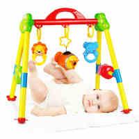 【满199减100】婴儿健身架带音乐0-3-4-6-12个月新生儿宝宝玩具0-1岁儿童健身器
