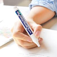 包邮 日本uni三菱CLP300高光笔 钢头修正笔/修正液/涂改液 CLP-300/80建筑手绘白色高光笔学生笔式钢头