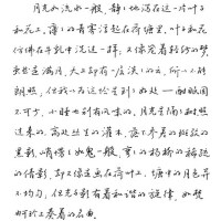 墨点成人字帖行楷草书钢笔速成硬笔书法教程练字本刘青春行书字帖