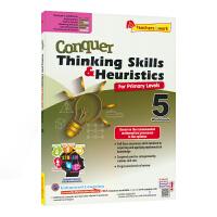 【现货】 SAP Conquer Thinking Skills & Heuristics 5 五年级数学练习册 新加
