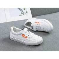 儿童小白鞋2020春季新款男童板鞋女童布鞋学生演出鞋