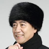 冬季老年人地主帽男士加厚保暖帽老�^棉帽老人冬天男帽子��y帽男