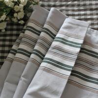 21支精梳棉织造手工棉老粗布单人双人床单多规格有货1.5 1.8 如图所示