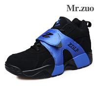 Mr.zuo情侣男女款运动鞋 正品 情侣篮球鞋篮球战靴