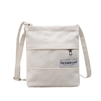 韩版文艺帆布包单肩小包布艺手机包零钱包斜挎包迷你包袋