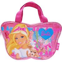 BJ 时尚手提袋 儿童手提袋 芭比粉色公主手袋 女孩手拎包 包包