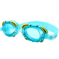 儿童泳镜男女童宝宝透明防水防雾卡通游泳镜泳帽套装