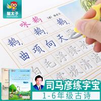 猫太子司马彦小学生1-6年级凹槽练字帖初学者楷书练字板儿童字帖