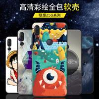 联想Z5S手机壳Lenovo L78071硅胶保护套日韩卡通男女款z5s全包防摔创意可爱潮