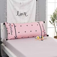 床头靠垫长抱枕榻榻米沙发靠背软包公主风大号双人枕头可拆洗