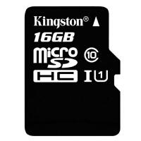 【包邮】Kingston 金士顿 16G TF 手机内存卡 MicroSDHC Class10 高速存储卡 16g内存