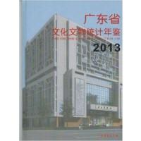 2013广东省文化文物统计年鉴