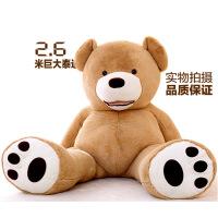 七夕礼物陈乔恩同款2米3.6米大公仔美国大熊泰迪熊毛绒玩具送女友抱抱熊