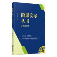 微课实录丛书 初中数学卷