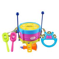 【北国e家】儿童乐器益智敲打玩具婴幼儿摇铃组合套装拍拍鼓 g5l
