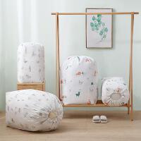 大容量棉被收�{袋�Q季棉被防�m防潮整理袋家用��sPEVA束口收�{袋