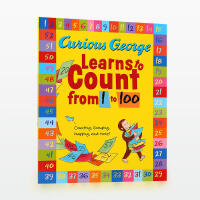 【99选5】美国进口 Curious George Learns to Count from 1 to 100 好奇的乔治学数数【平装】