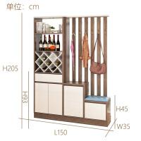 玄关柜隔断柜简约现代多功能鞋柜客厅进门屏风入户门厅柜间厅柜 组装