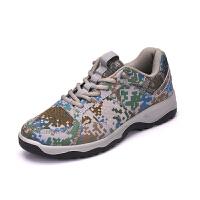 配发新式07a作训鞋胶鞋解放鞋军鞋男女跑步鞋帆布鞋军迷07A迷彩鞋