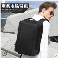 立体简洁大气旅行包男士商务背包男双肩包时尚休闲15.6寸电脑包