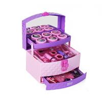 凯蒂猫儿童化妆品公主彩妆盒手提箱套装女孩娃娃指甲生日表演