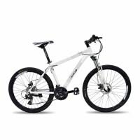 monloup欧狼山地自行车运动31024速前后铝合金折叠山地车变速自行车机械碟刹减震男女