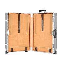 行李箱万向轮复古铝框拉杆箱男女24学生韩版旅行箱密码皮箱子28寸