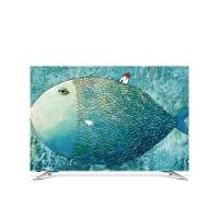 挂式电视机罩套防尘罩布32寸40寸50寸55寸60寸65寸盖曲面液晶英寸・