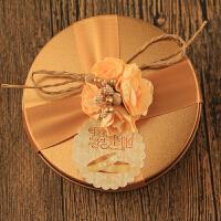 新款结婚礼口铁盒喜糖盒欧式创意喜糖礼盒糖果盒伴手礼